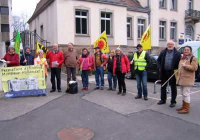 15.03.2016 Proteste in Colmar